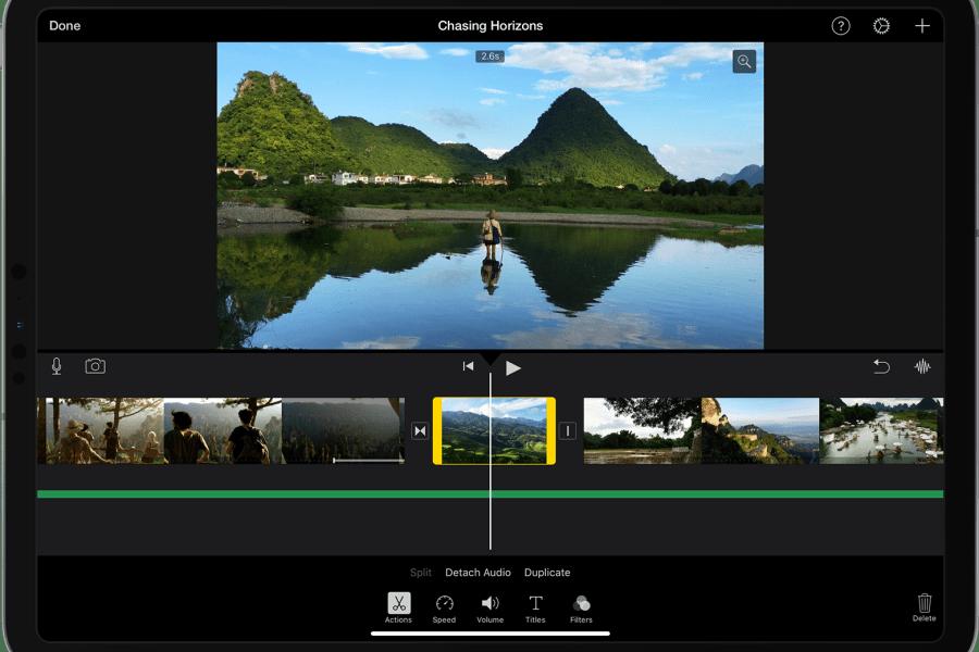 iMovie: Apple déploie une mise à jour pour la sortie de l'iPhone 12
