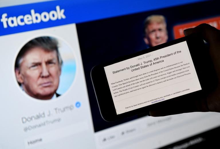 Bannir Trump ou le rétablir, Facebook devra choisir