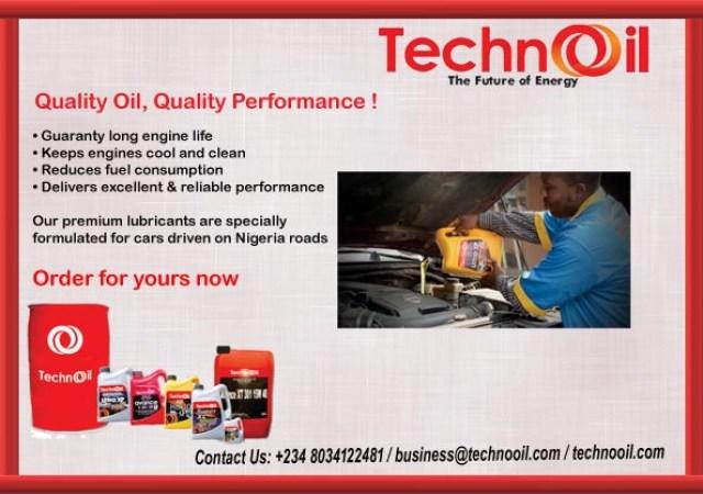 Lubricants - Techno Oil