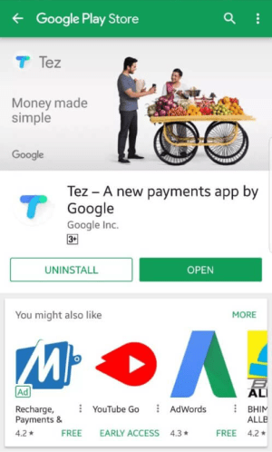 How to Download & Setup Tez App on your Smartphone