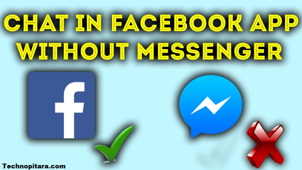 Chat facebook without facebook messenger