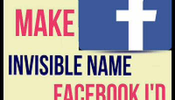 No Root] Trick to Create Invisible Name on Facebook Account