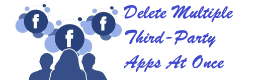 remove all third-party apps from Facebook at once