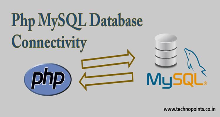 Php Mysql database connectivity