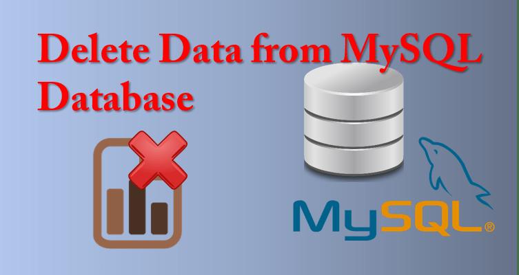 Delete Data from Mysql database using php