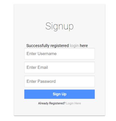 php full session tutorial registration window