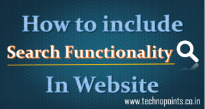 Search functionality in dynamic website using php, MySQL