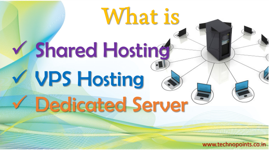 What is hosting, their types and uses