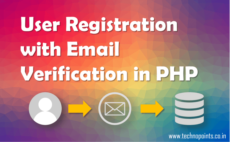 User Registration with Email Verification in php