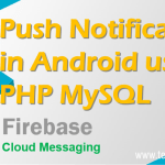 Upload Store Retrieve and Delete Images using PHP and MySQLi