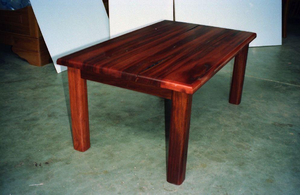 jarrah coffee table plans