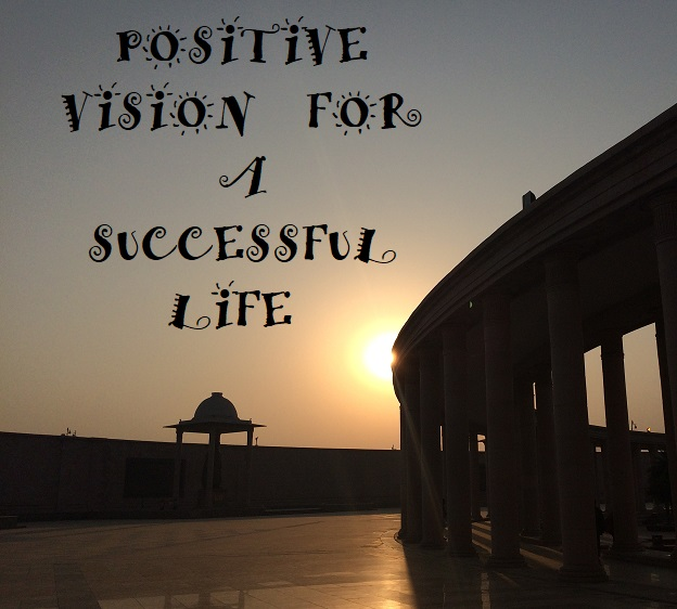Successful life with positive thinking