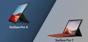 Surface Pro X vs. Surface Pro 7 Specifications