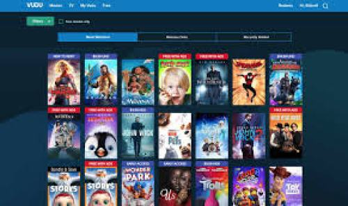 Vudu- Video On demand Platform for Firestick