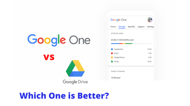 Google Drive vs Google One- Which is better