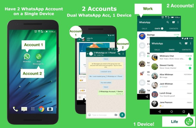 How to use Dual WhatsApp | Dual Whatsweb for PC | Install Dual Whatsweb on Android