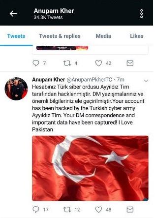 Anupam Kher I Love Pakistan