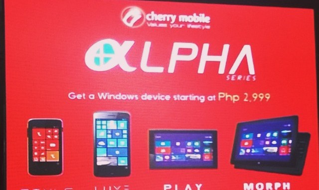 Cherry Mobile Alpha Series
