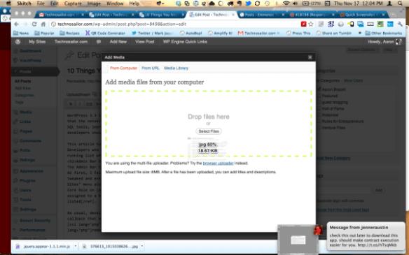 HTML5 Media Uploader