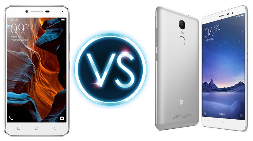 Lenovo Lemon 3 vs Xiaomi Redmi 3