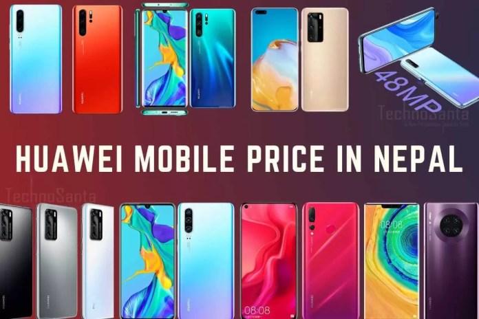 Huawei Mobile Price In Nepal 2020