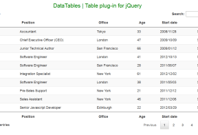 Export HTML Table to Excel, Word, PDF, JSON, PNG using