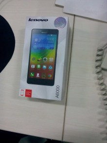 Packed lenovo a6000