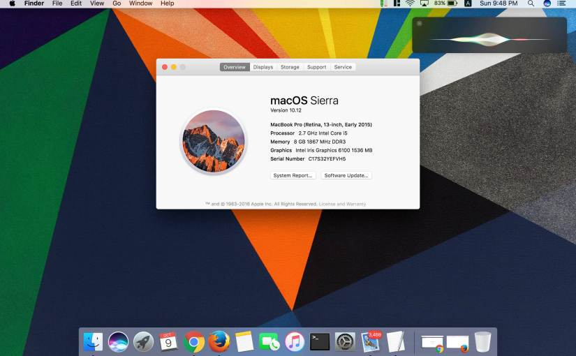 Install macOS Sierra on Macbook Pro Retina