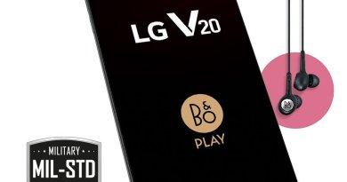 Lg v20 handset