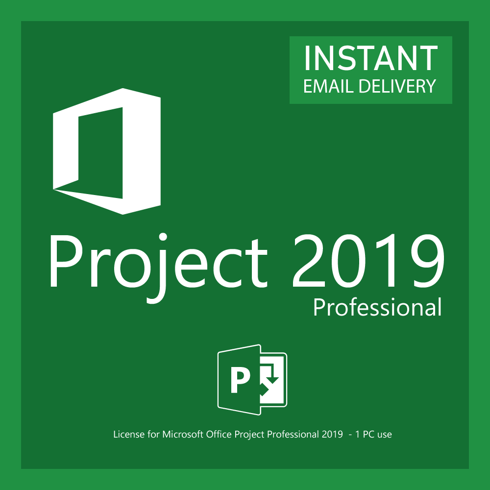 Microsoft Office Project Professional 2019 For Windows 10 With Downloadable Installer Technosoft