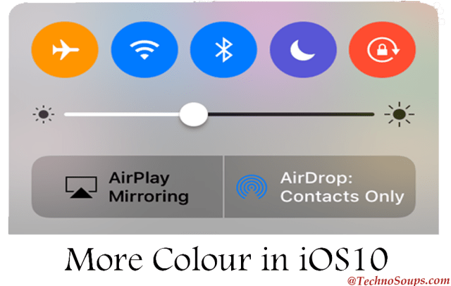 More colors with iOS 10