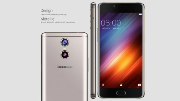 Doogee Shoot 1 has a premiuim design