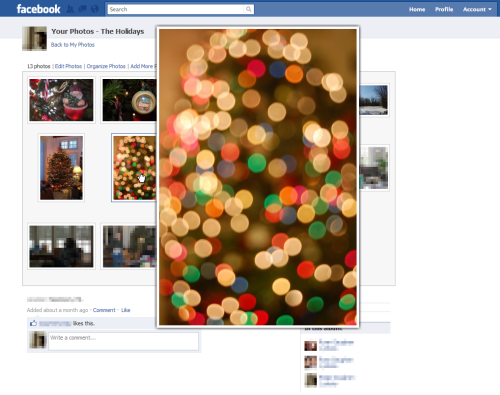 Facebook Photo Zoom safari extension