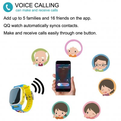 Voice calling in QQ Watch