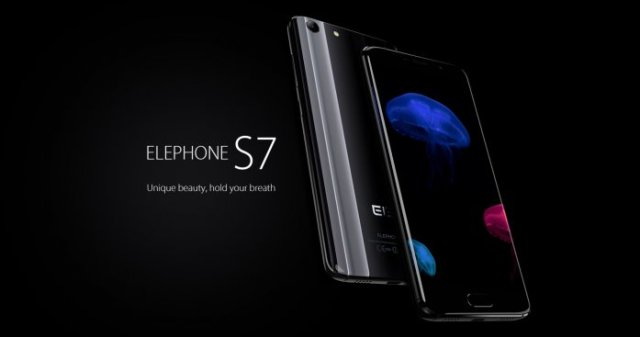 Elephone S7 Bazel-less phone