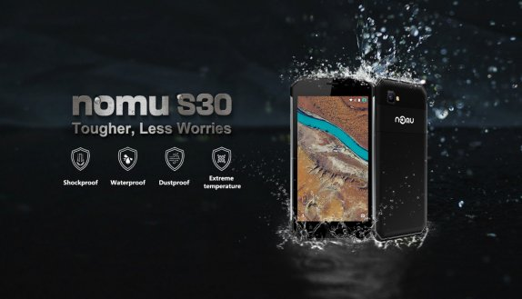 NOMU S30 Smartphone Review