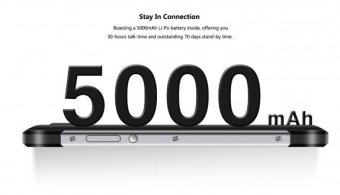 5000 mAh smartphone