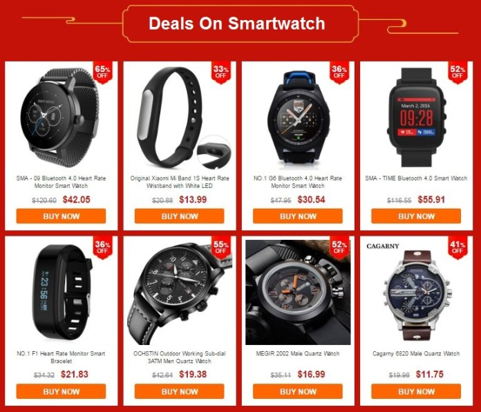 Deals on Smartwatch