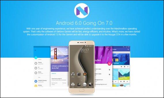 Ulefone Gemini Android 6.0 OS