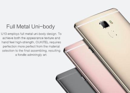 Beautiful Metallic Finish - U13 Design