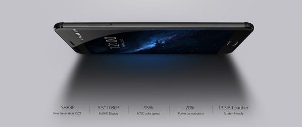 IGZO Display in UMIdigi Z Pro Smartphone