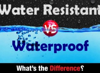 Difference Between Water Resistant and Waterproof