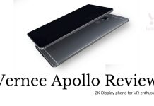 Buy Vernee Apollo 4G Phablet