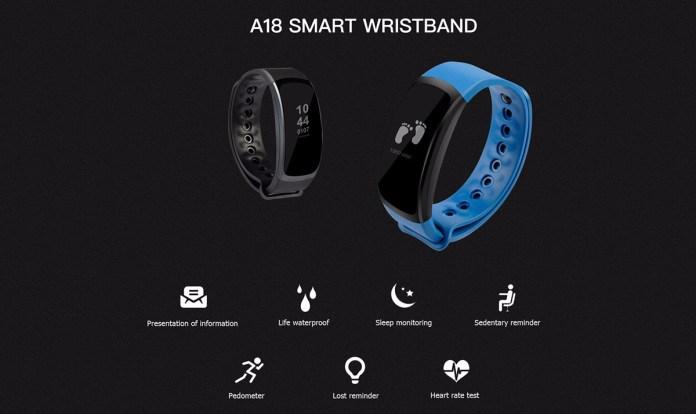 Oukitel A18 Smartband