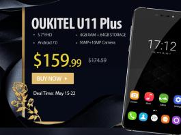 OUKITEL U11