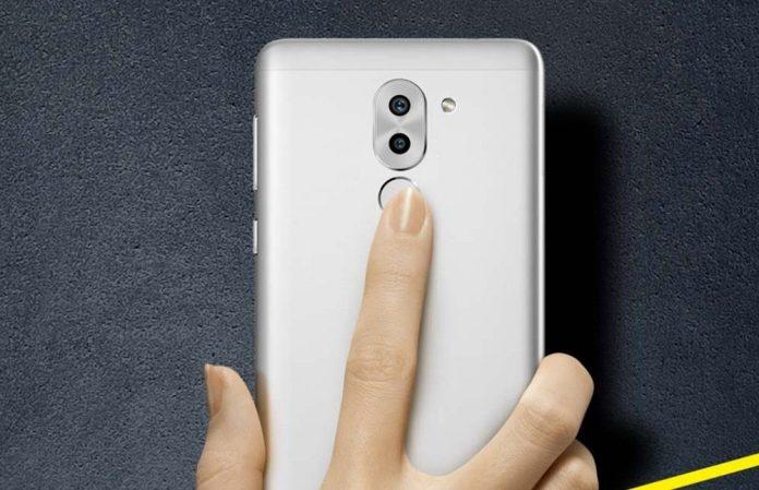 Back Side of Huawei Honor 6X 4G smartphone