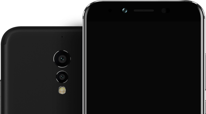 13+5 megapixel Rear camera in umidigi S