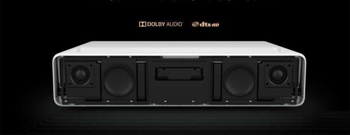 Dolby 30 W dual speakers