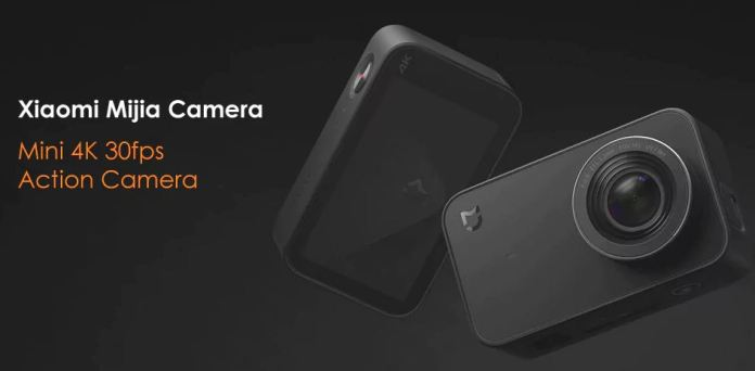 Xiaomi Mijia Mini 4k Action camera