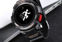 NO.1 F6 Smartwatch - BLACK